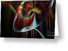 Rainbow Waterfall Greeting Card by Peter R Nicholls