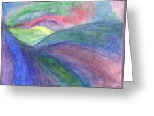 Rainbow Way Greeting Card