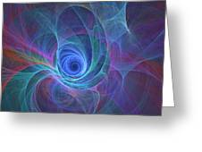 Rainbow Whirlpool Greeting Card