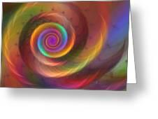 Rainbow Whispers Greeting Card