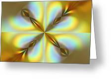 Rainbows Abstract Greeting Card