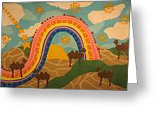 Rainbows Never End Greeting Card