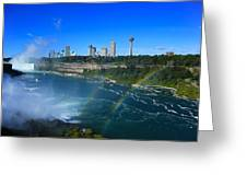 Rainbows Over Niagara Greeting Card