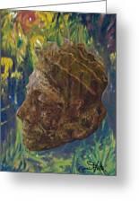 Rainforest King Greeting Card