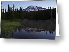 Rainier Awakening Greeting Card