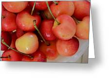 Rainier Cherries Greeting Card