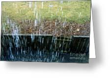 Raining Outside Greeting Card