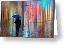 Rainman - Parallels Of Time Greeting Card