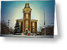 Raintree County Courthouse Greeting Card