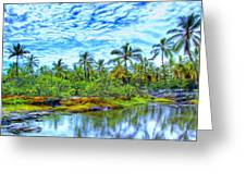 Rainy Afternoon In Kona Greeting Card