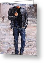 Rainy Day #23 Greeting Card by Emerico Imre Toth