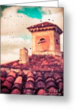 Rainy Day In Italy Greeting Card