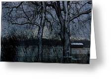 Rainy Days And Mondays- Feature-barns Big And Small-visions Of The Night-photography And Textures Greeting Card
