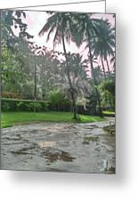 rainy Kerala  Greeting Card
