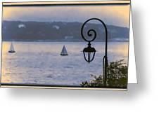Rainy Sail Greeting Card