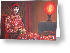 Raise The Red Lantern Greeting Card