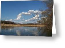 Raisen River Greeting Card by Jennifer  King
