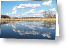 Raisen River1 Greeting Card by Jennifer  King