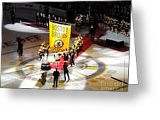 Raising The Banner Greeting Card