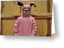 Ralphie Of A Christmas Story Greeting Card