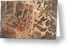 Ram Desert Transjordanian Plateau Jordan Greeting Card