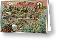 Rambles Through America Greeting Card