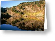 Rampart Ridge In Rachael Lake Greeting Card