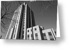 Ramsey County Courthouse Greeting Card by Mike Evangelist