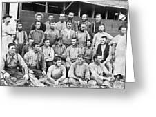 Ranch Cowboys Portrait Greeting Card