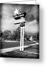 Ranch House Greeting Card by John Rizzuto