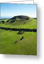 Ranch Land, Kohala Mountain Road, Route Greeting Card