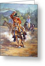 Ranch Rodeo Time Greeting Card