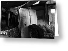 Ranchers House Black And White I Greeting Card