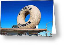 Randy's Donuts Greeting Card