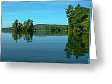 Range Pond 0050 Greeting Card