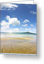 Rangitoto Island Greeting Card