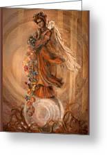 Raphael The Archangel Greeting Card