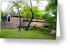Rapps Covered Bridge Over French Creek Greeting Card