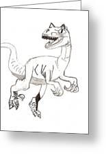 Raptor Greeting Card