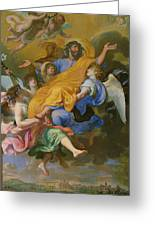 Rapture Of Saint Joseph Greeting Card