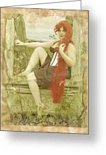 Rapunzel I Can Save Myself Greeting Card by Eating Strawberries