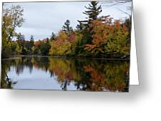 Raquette River Reflections Greeting Card