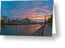 Rare Irish Sunset Greeting Card