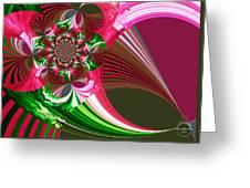 Raspberry Garden Greeting Card