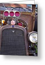 Ratrodded Out  Greeting Card by Juls Adams