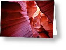 Rattlesnake Canyon - Arizona Greeting Card by Gregory Ballos