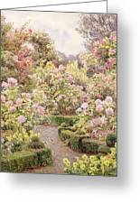 Raundscliffe - Everywhere Are Roses Greeting Card