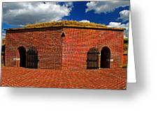 Ravelin Magazine At Fort Mchenry Greeting Card