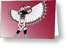 Raven Dancer Greeting Card