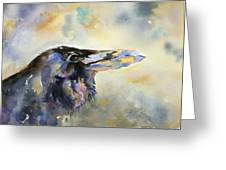 Raven I Greeting Card